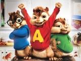 Alvin, Simon en Theodor melden zich voor een fantastische game!