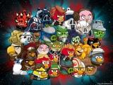 Angry Birds Star Wars: Afbeelding met speelbare characters