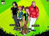 Van links naar rechts: Kevin, Gwen, Ben en Max in de serie Ben 10, bekend van tv.