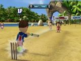 Er zijn vele sporten in dit spel zoals hier al te zien: Cricket maar ook volleybal, honkbal en disc golf zitten erin.