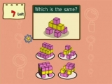 Je zult puzzels moeten oplossen in verschillende categorieën, zoals Rekenen en Onthouden.