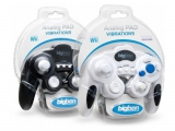 Er is ook een zwarte variant van de <a href = http://www.mariowii.nl/wii_spel_info.php?Nintendo=Bigben_Gamecube_Controller>Bigben Gamecube Controller</a>.