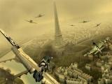 Luchtgevecht boven Parijs.