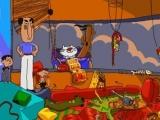 """Bart, jij zou gisteren toch je kamer opruimen?"""