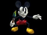 Met getrokken kwast valt Mickey aan!