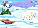 Gelukkig heeft Diego haar geleerd om goed met ijsberen om te gaan.