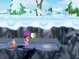 Niet niezen Dora, pas op dat het plafond niet inzakt.