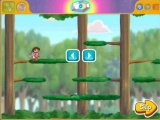 Gelukkig kan Dora heel goed springen!