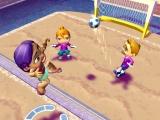 Ook een leuke minigame is de beach volleybal.