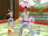 Het spel bevat leuke thema's, zoals dit Japanse kung fu-thema!