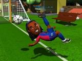 Op de Wii kun je ook met cartoon figuren van de spelers spelen.