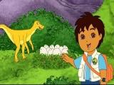 Met in de hoofdrol: de dinosaurus reddende Diego.