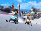 Je kunt zelfs in de sneeuw leuke minigames spelen!