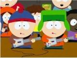 Zelfs in South Park is de Guitar Hero Guitar een populaire accesoire!