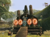 In Links Crossbow Training gebruik je de Wii Zapper om mee te schieten.