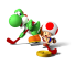 Geheimen en cheats voor Mario Sports Mix
