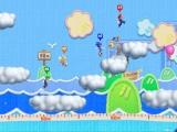 Spring op de wolken en probeer zover mogelijk te komen in Droomverspringen.