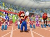 Is iedereen klaar? Mario trekt alvast de aandacht van het publiek.