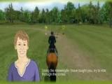 Ze leert je paardrijden