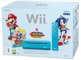 De Wii Slim is ook in het blauw verkrijgbaar met het spel <a href = http://www.mariowii.nl/wii_spel_info.php?Nintendo=Mario_and_Sonic_op_de_Olympische_Spelen_-_Londen_2012>Mario & Sonic op de Olympische Spelen - Londen 2012</a>