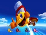 Verschillende spook- en monstervriendjes doen mee, maar <a href = http://www.mario64.nl/Nintendo64_Namco_Museum_USA.htm target = _blank>Pac-Man</a> zelf steelt de show!