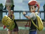 Gebruik de hoofdrolspelers van Pokemon Diamond en Pearl of creëer je eigen trainer.
