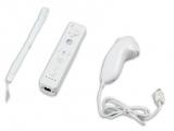 De min- en plusknoppen zijn op deze controller driehoekig. Daarbij ontbreekt het logo van de Wii.