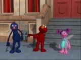 In een Sesamstraat-game mogen favorieten als Elmo, Zoe en Grover natuurlijk niet ontbreken