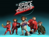 Hiet zijn ze dan, the Space Chimps cre