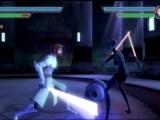Vecht 1 tegen 1 met laser-zwaarden.