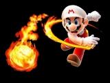 Mario kan verschillende vormen aannemen, zoals bijvoorbeeld deze vuur-Mario.