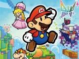 Zelf speel je Mario van papierdikte.