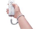 Het veiligheidsbandje voorkomt dat de WiiRemote door de tv gegooid wordt.