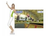 Het Wii Balance Board neemt je bewegingen/balans waar en zetten die om in het spel.