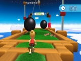 In Obstacle Course moet je een parcours afleggen die je doet denken aan <a href = http://www.mario64.nl/nintendo64_Super_Mario_64.htm>Super Mario</a>!