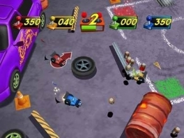 Er is keuze uit een shooter, een chase-game en zelfs een racegame