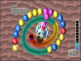 Jouw eigen Mii als hoofdpersonage van deze game in een ballenkanon. Hoe geweldig is dat.