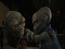 De cutscenes zijn direct uit de film geplukt.