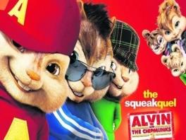 Alvin en zijn vriendjes zijn bij dit 2e deel weer van de partij!