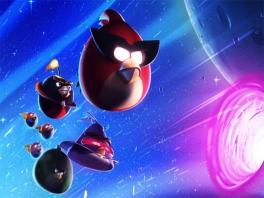 Aan de kant! De Angry Birds gaan op avontuur in het sterrenstelsel.