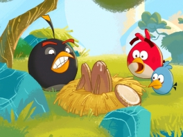 """Help jij de """"Angry Birds"""" hun eieren terug te krijgen?"""