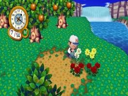 Plant bomen en bloemen om het dorp mooier te maken. Misschien word je wel beloond!