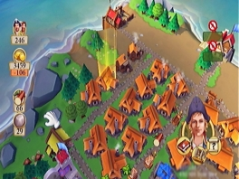 Een nieuw dorpje heeft nog niet zo veel nodig, maar levert ook niet zoveel geld op.