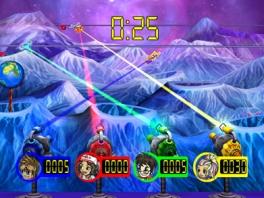 Kies een avatar en speel met maximaal vier spelers tegen elkaar!