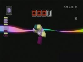 Zet de blokjes op een goede manier in elkaar, en als beloning krijg je een... regenboog?