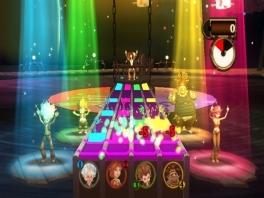 Er is een groot aantal minigames: zo is er ook plek voor Guitar Hero-fans!