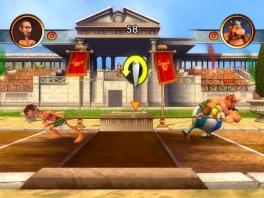 In de multiplayer optie kan je met je vrienden oa gezellig ouderwets touwtrekken.