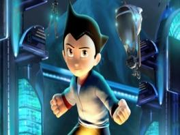 Zonder al die technische hulpmiddelen ziet Astro Boy er eigenlijk heel normaal uit...
