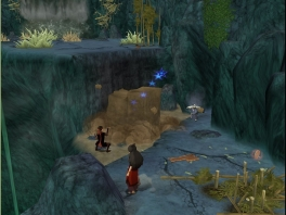 Aang is verkleed, want hij mag niet herkend worden door de vuurnatie!