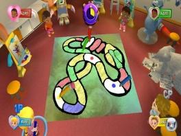 """Ook bordspellen zijn aanwezig in de game, zoals dit """"Levensweg"""" voor beginners..."""